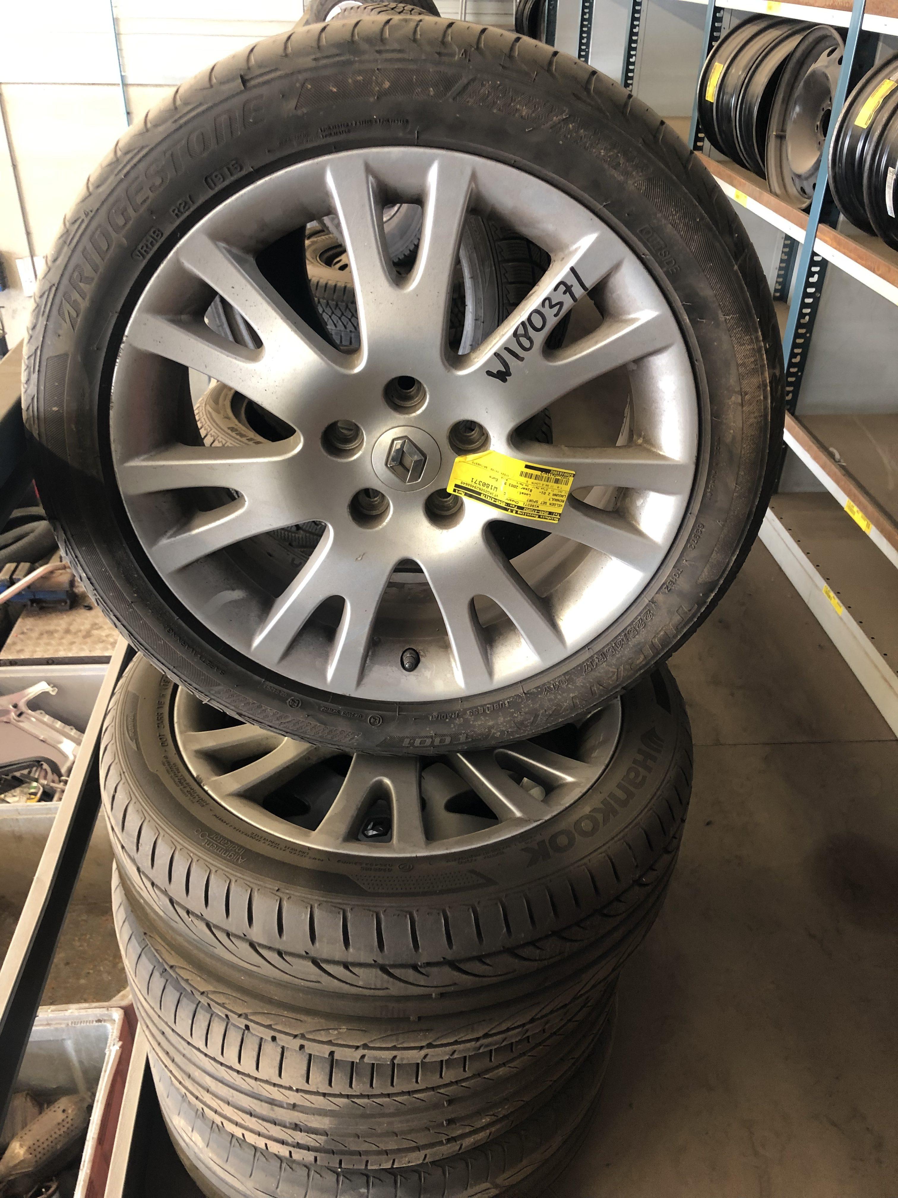 Renault Laguna Aluminium Velgen 17